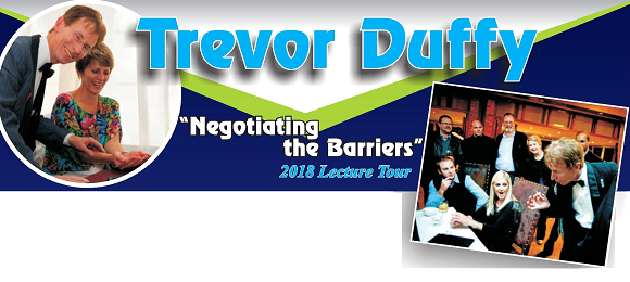 Negotiating the Barriers Lecture Tour