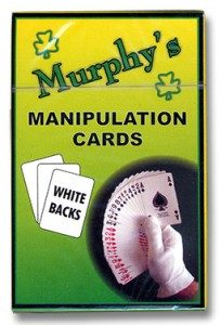 Trevor Duffy Products for Magicians - manipulation cards white backs